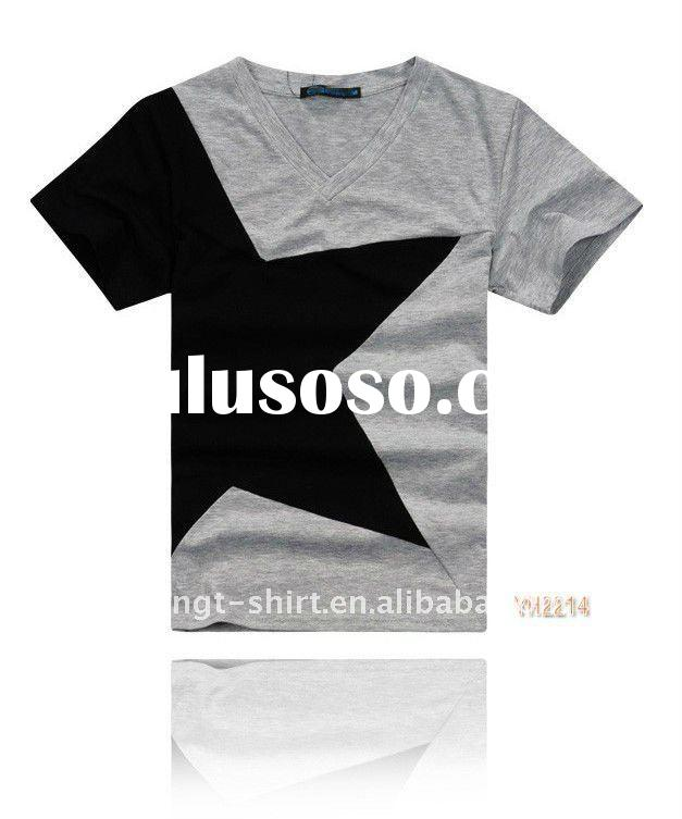Customized cotton T Shirts for man