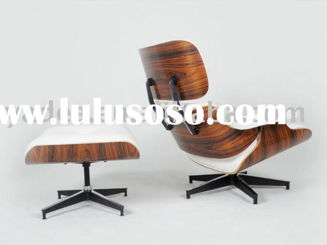Eames replica lounge chair and ottoman