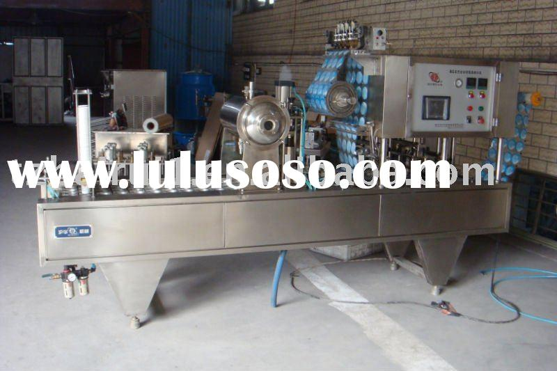 Full Automatic Cup Filling Sealing Machine