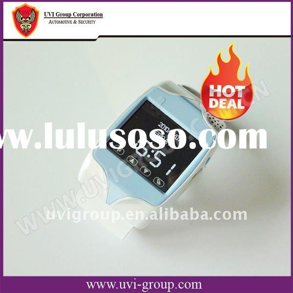 GSM GPS Wrist Watch Cell Phone and Real-time Tracking System,watch mobile phone, GPS tracker .GPS-20