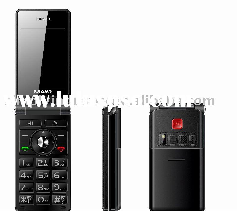 NEW flip dual sim mobile phone with CE. ROHS