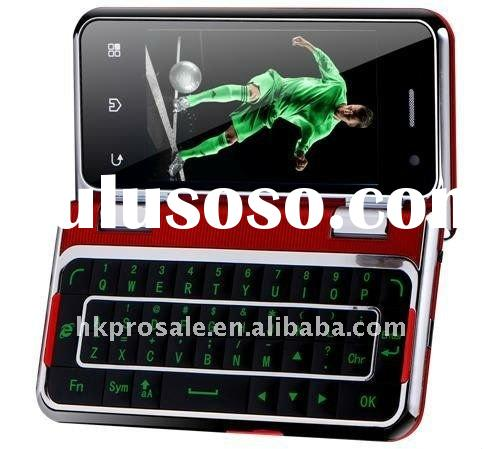 Qwerty Keyboard Touch Screen Cell Phone T6000 WIFI TV JAVA Mobie Phone with Skype,MSN