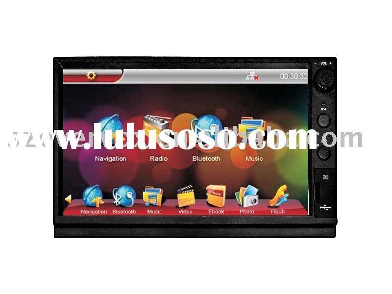 touch screen auto car stereo system gps with bluetooth