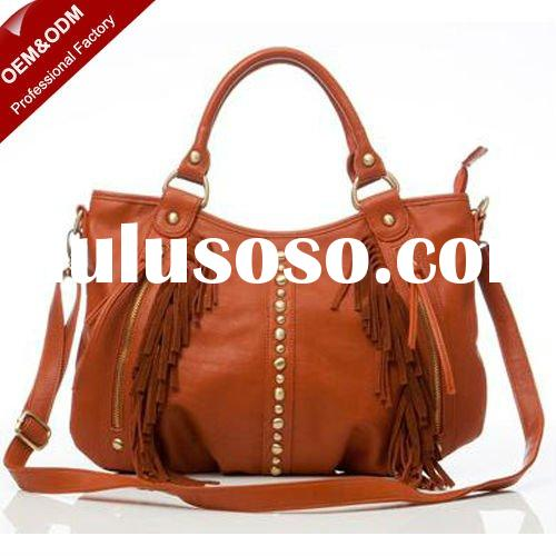 Latest fashion PU women bags handbag