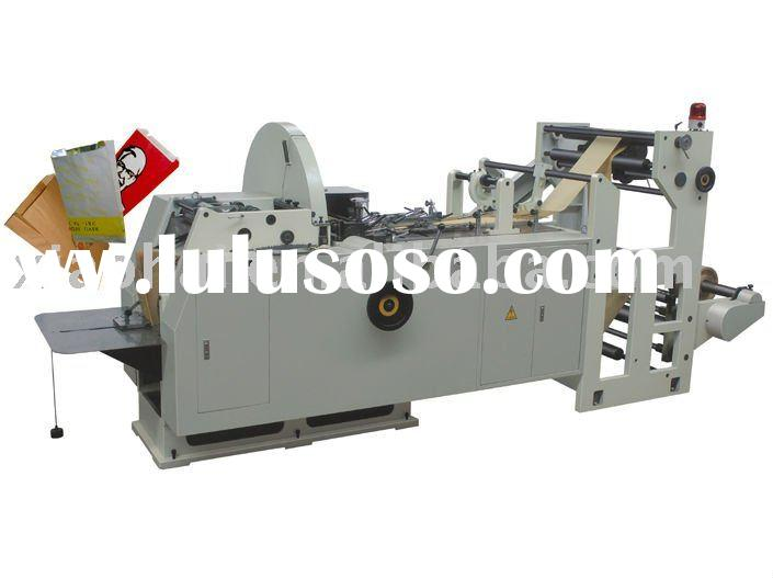 XIAOHAI NEW full automatic paper bag making machine with flexo printing