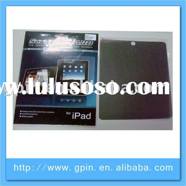 anti - fingerprinting screen cover for Ipad / privacy screen filter for Apple new IPAD