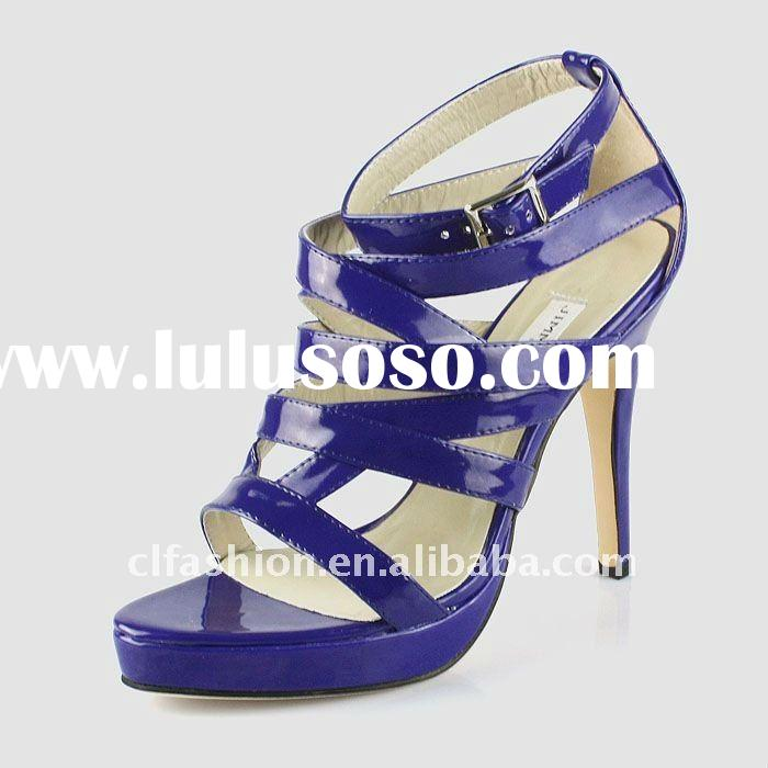 2011 Latest fashion women shoes ,leather high heels ,dress shoes ,girl gift ,free shipping