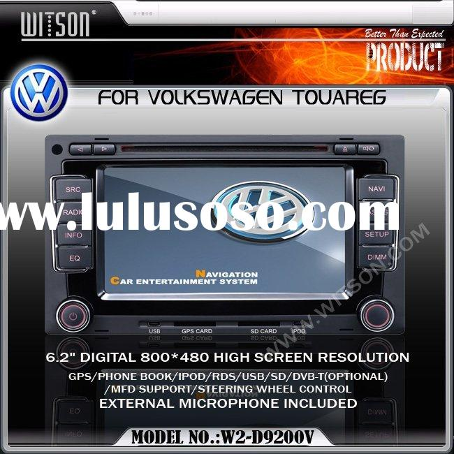 CAR DVD PLAYER WITSON Special Car DVD Player With GPS For Volkswagen TOUAREG China Car DVD Player