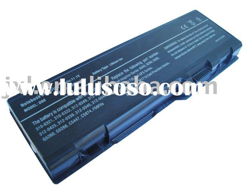 high capacity laptop battery for DELL inspiron 6000 9400 9300 9200 Precision M90 Inspiron XPS M1710