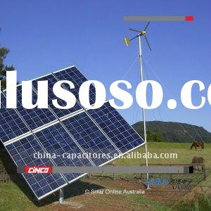 2KW wind-solar hybrid energy system for house us(solar panel,wind turbine,hybrid solar controller,po