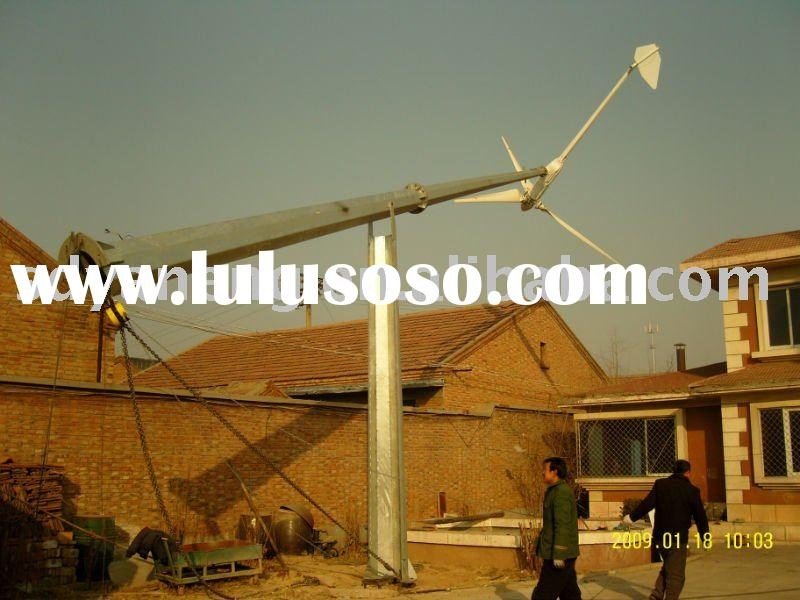 5KW Wind power generator with CE horizontal axis for home use
