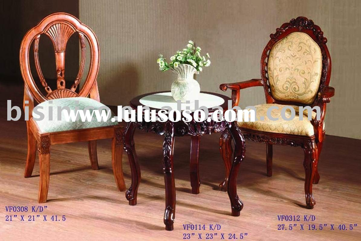 Antique solid wood dining chair,round table,arm chair,side chair,dining room sets,classical home fur