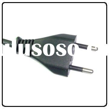 Brazil INMETRO Standard power supply cord with 2-pin plug