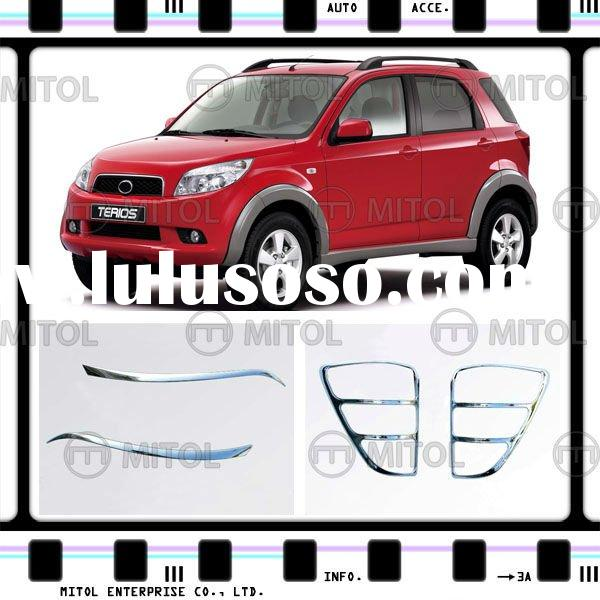 Chrome Accessory Lamp Rim For Daihatsu TERIOS 06, Auto Accessory