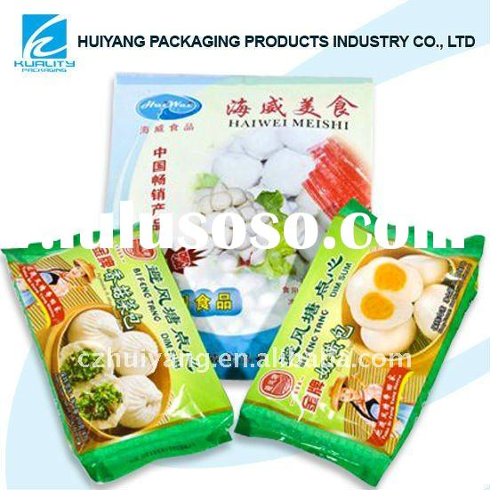 High barrier aseptic bag for deep fried products packaging