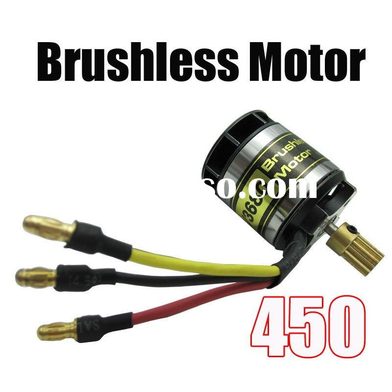 KV3680 rc electric brushless motor for trex450 brushless outrunner motor with 13T gear