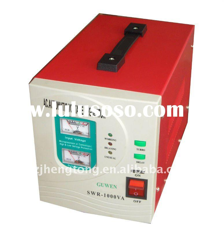 Relay type avr automatic AC voltage stabilizer