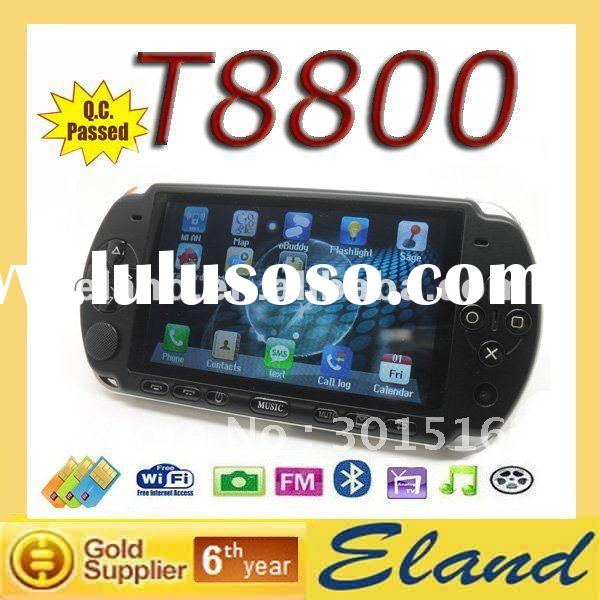 T8800 with 2G MICRO-SD card dual sim tv wifi mobile phone