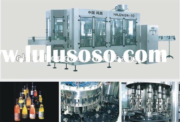 automatic juice/liquid/water/beverage/jam/sauce/wine grape washing filling Sealing/capping Machine l