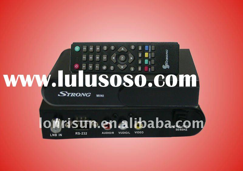 cheap fta DVB-S set top box strong mini with ali3329C solution