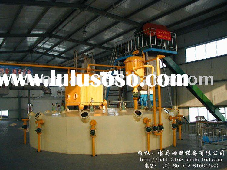 oil and fat solvent extraction and sesame oil extraction machine