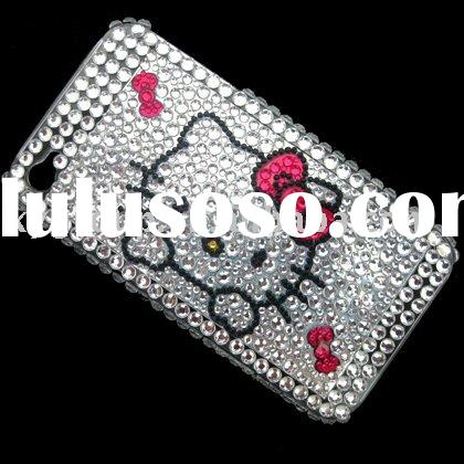 rhinestone cell phone cases for iphone 4 4G