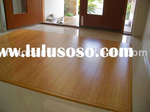 strand woven bamboo flooring carbonized color