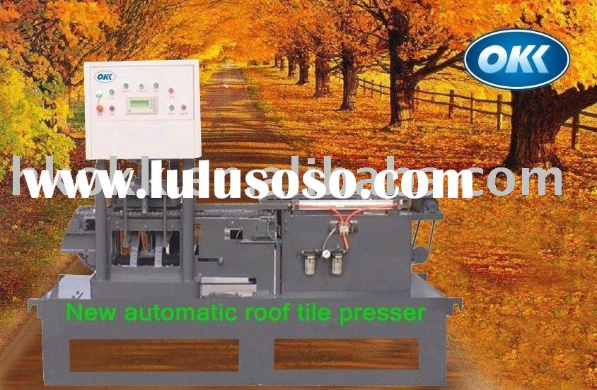 Sell clay roof tile making machine & production line
