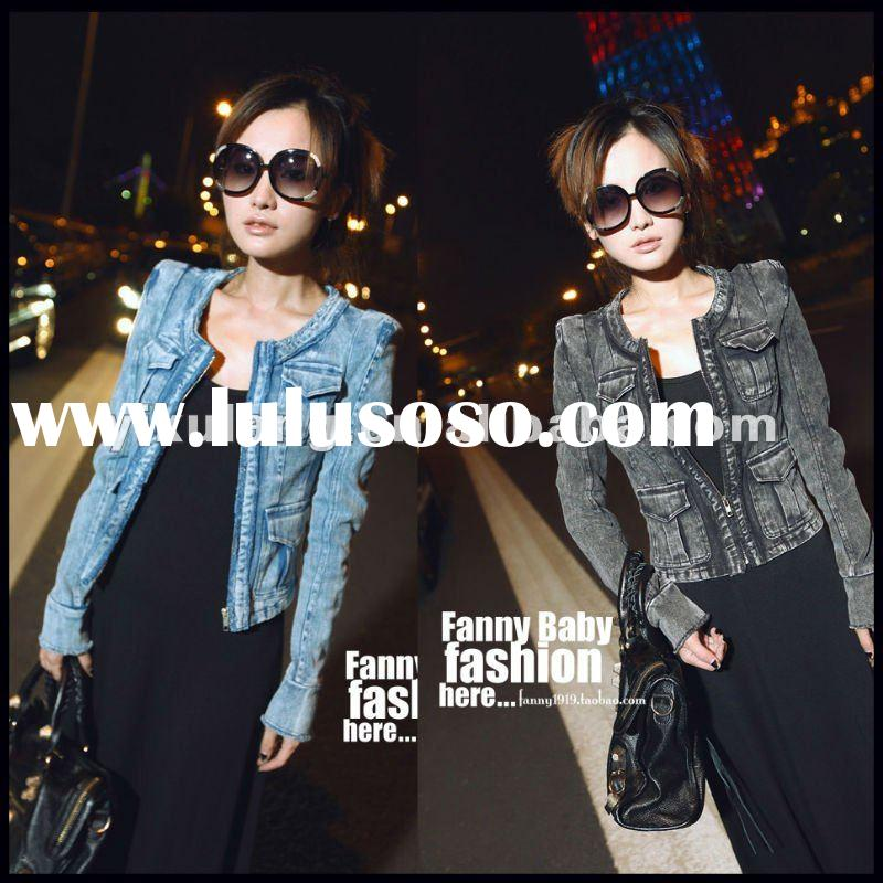 2012 Stylish 100% cotton Women Jeans Clothing LY-W3