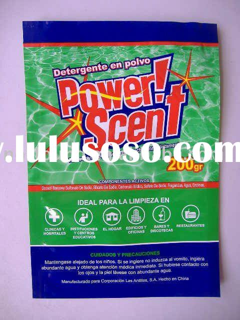 2012 new formular package laundry detergent powder