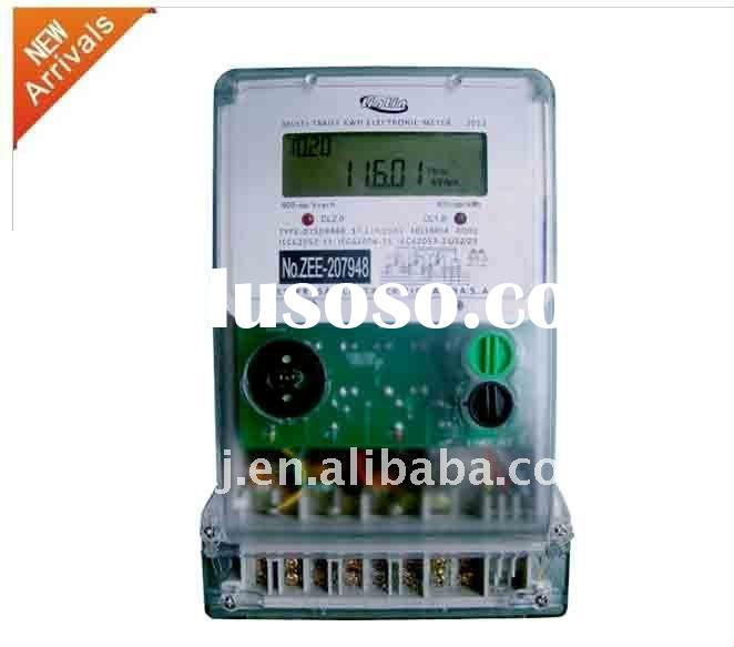 3 phase 4 wire electronic electrical digital multifunction kWh meter with RS485