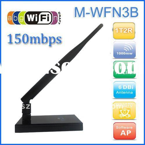 High Power USB Wireless-N Wi-Fi Network Adapter