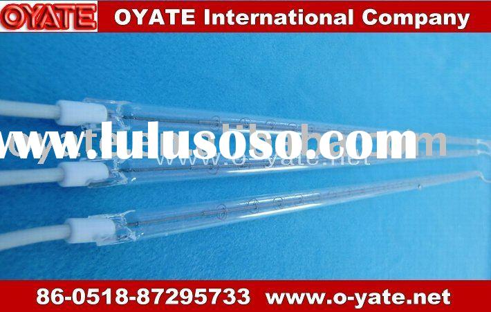Infrared quartz halogen heating tube for cooking