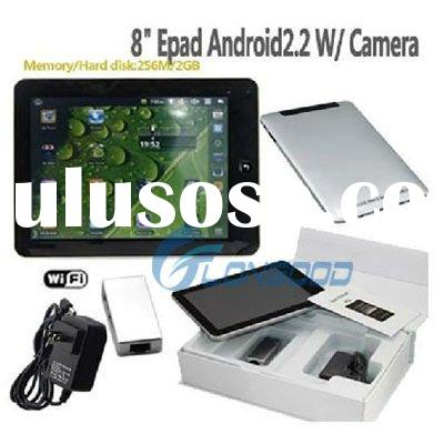 8 inch Android 2.2 VIA 8650 WIFI Cam Tablet PC with with Lan Port Support RJ45/2 USB port adapterAnd