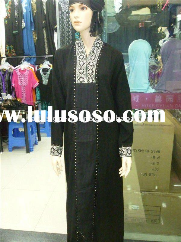 C193 New design abaya / jilbab islamic wear 2011