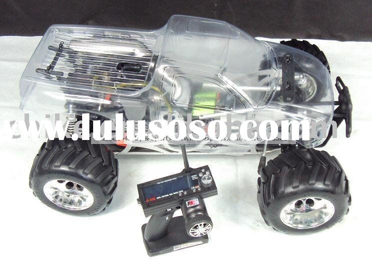 New Arrival - Large Scale 30cc Engine 4X4 Big Foot Monster RC Truck,RTR VERSION with 2.4G LCD RADIO.