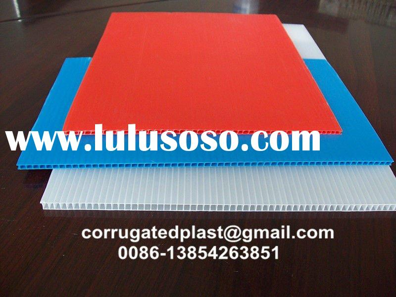 Polypropylene Plastic Core Flute Sheet/ Board