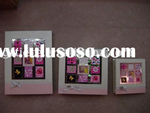 Professional girl photo album / handmade album/ girl picture frame / artistic paper album/post bound
