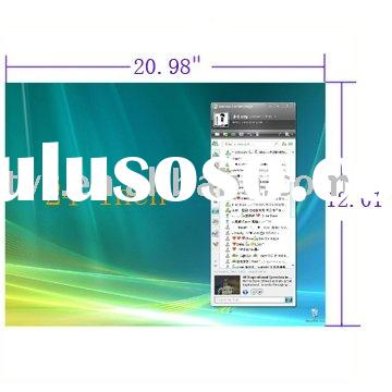 24 inch Widescreen(16:9) PC Computer LCD Screen Protector,Size:20.98*12.01 inch (53.3*30.5cm)