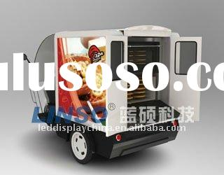 Electric Delivery Vehicle for Pizza, Ice Cream, Bread Shop, etc