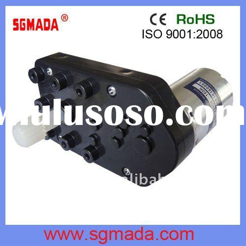 High Torque.Zinc Alloy Long life dc motor with gearbox