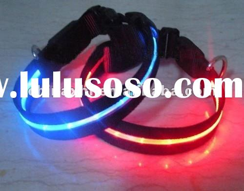 LED flashing pet necklace LED light dog collar flashing dog collar LED Dog Necklace