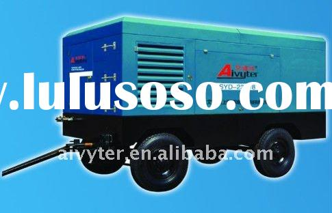 Portable Screw Air Compressor with Cummins Engine for Textile Industry