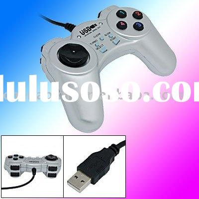 Silvery USB Controller Game Joystick Gamepad for PC / usb controller /usb joypad / pc joypad /pc con