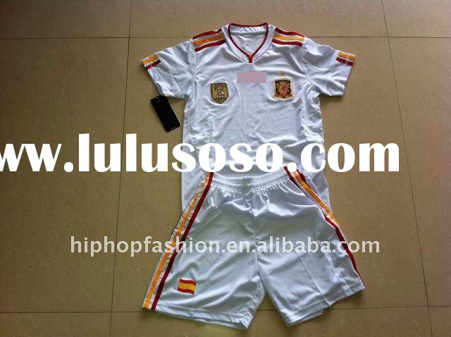 Top quality Kid kit spain jerseys accpet paypal