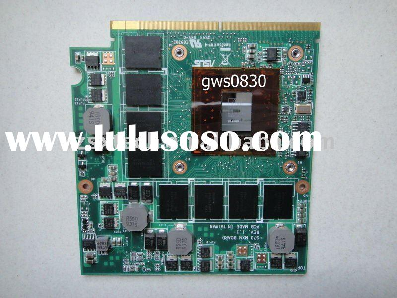 100%bland new and original laptop graphics card ATI HD5870 1GB DDR5 MXM3(B)256bit VGA card
