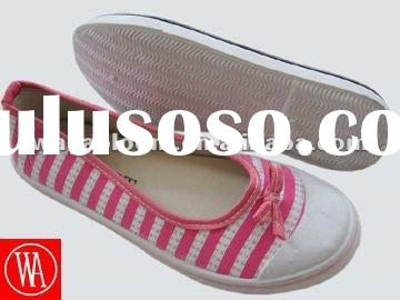 2012 pvc sole casual cheap women canvas shoes