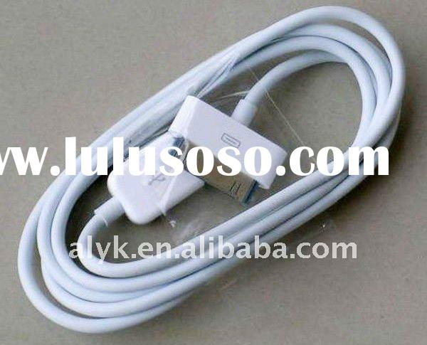 2-in-1 Data + Charging usb Cable for iphone 4G ipad 2 ipod iphone 3GS ipad 1