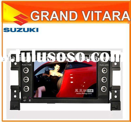 "7"" Touch Screen HD Car DVD Player GPS USB Radio TV Bluetooth steering wheel controlSD for SUZUK"