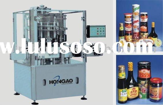 Automatic bottle ketchup filling capping machine